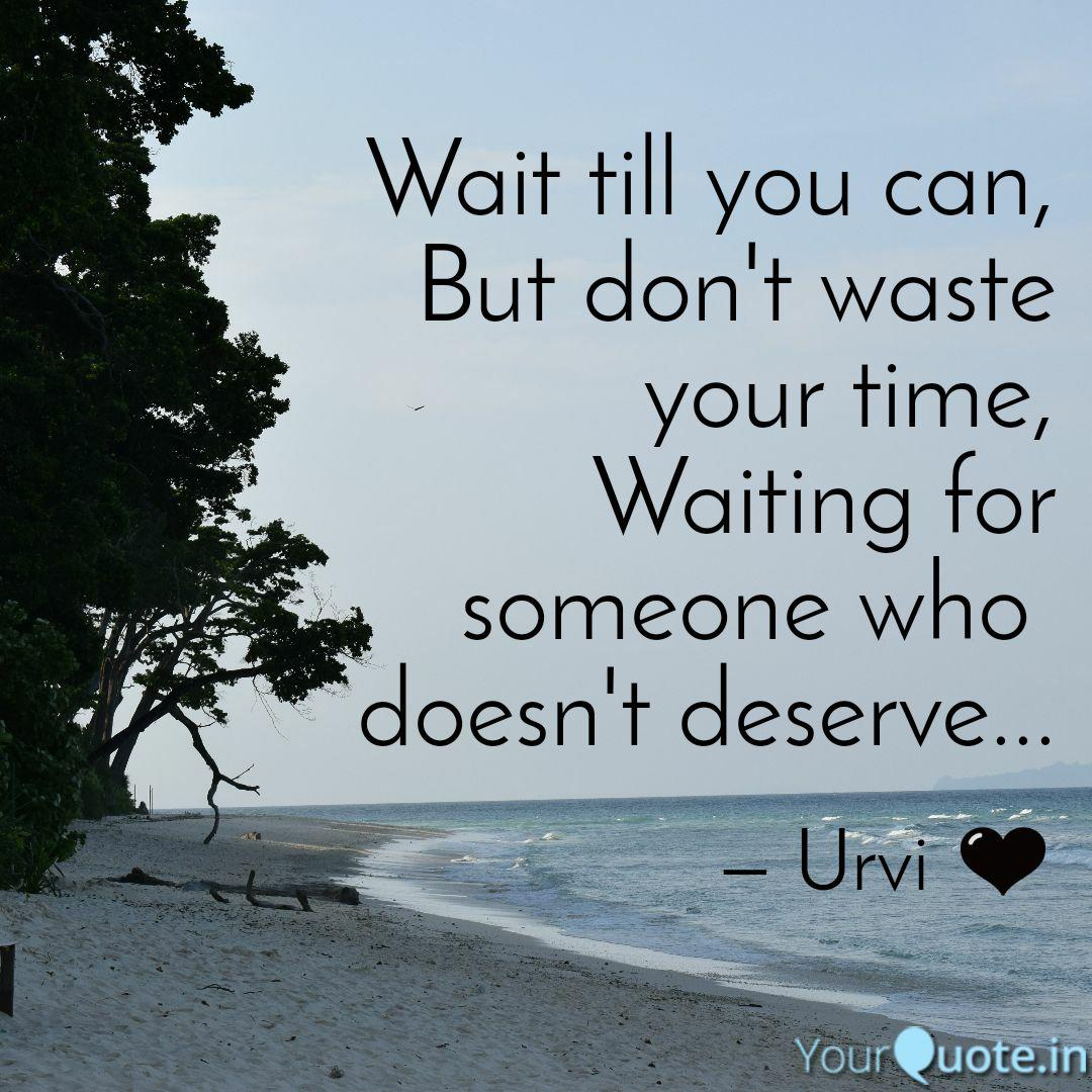 Waiting for someone quotes