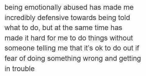 Mentally have abused who been people Emotional Abuse: