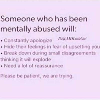 Abuse relationships mental in How to