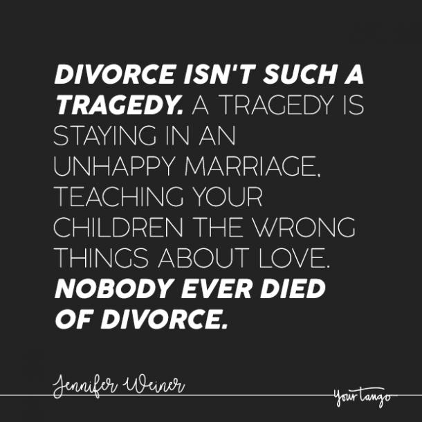 Quotes marriage after divorce 9 Separation