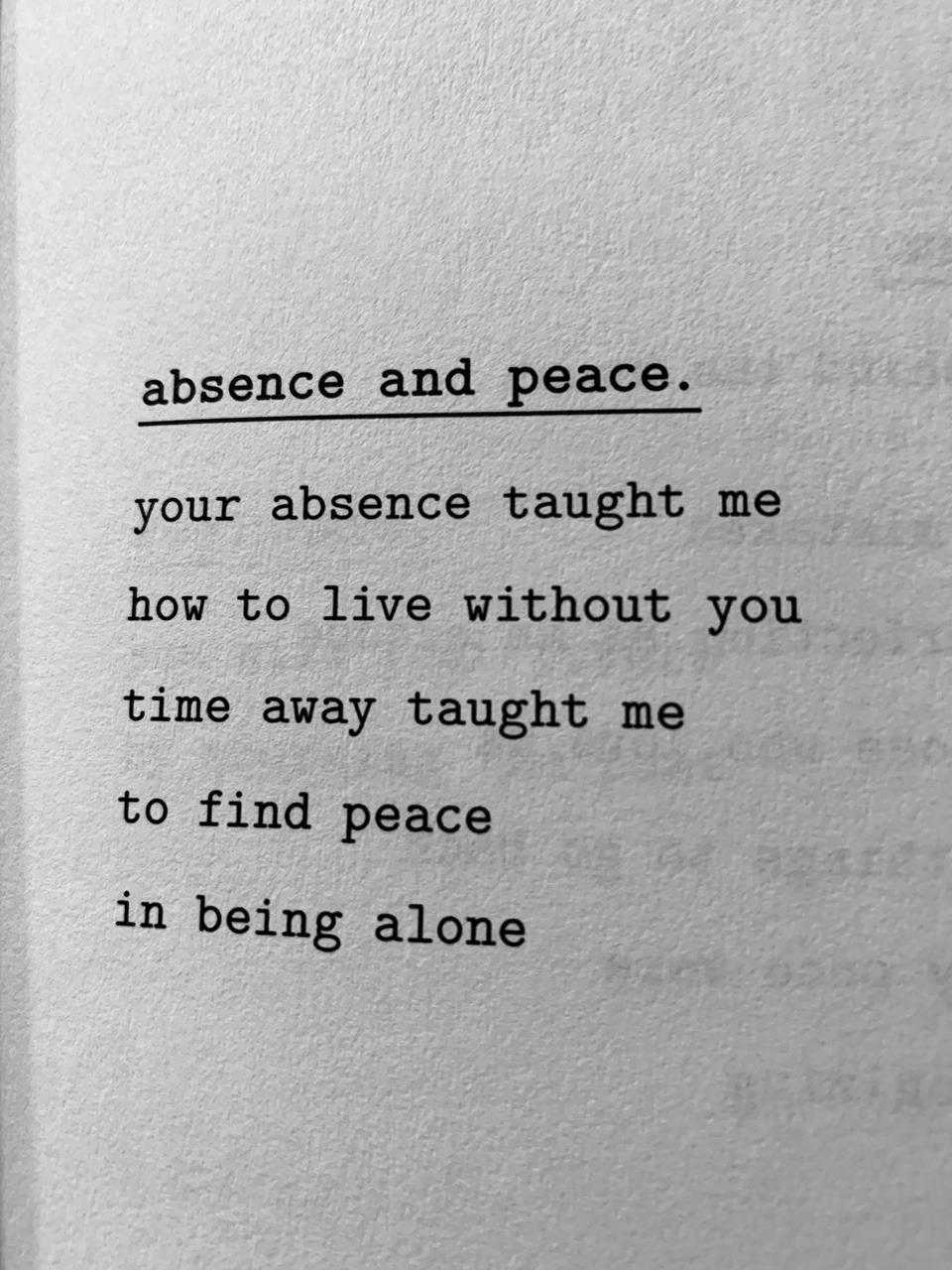 Is killing absence me quotes your I Miss