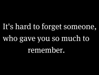 To someone who love forget you How to