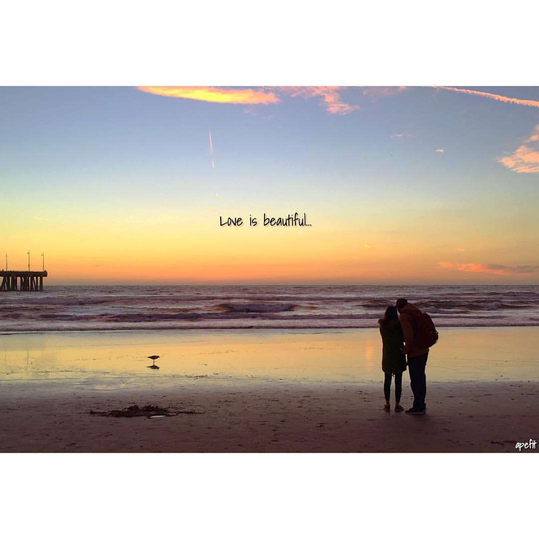 Quotes about sunset and love
