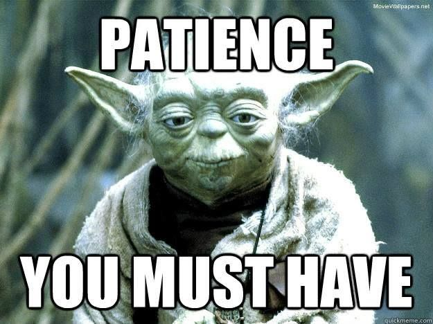 Star wars quotes yoda patience Raindrops on roses and whiskers on kittens  photo star wars   Dogtrainingobedienceschool.com