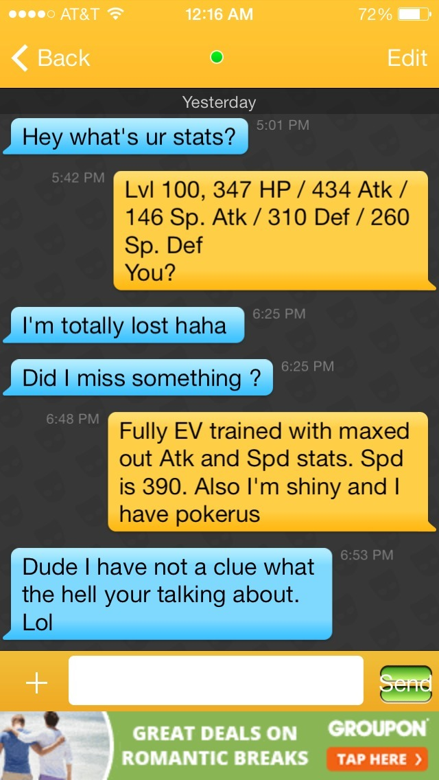 Messages recover lost grindr Disabled Grindr