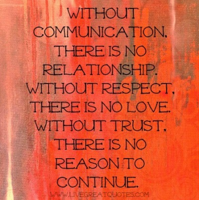 Communication in relationships quotes about 36 Communication