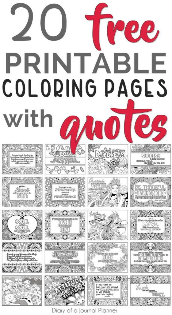 Work Quotes Coloring Pages Printable Quote Coloring Pages 20 Free Coloring  Quotes Dogtrainingobedienceschool.com